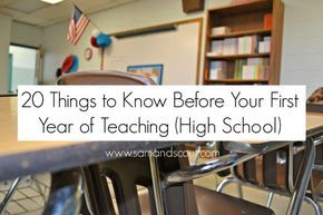 20 things to know before your first year of teaching! | Redwood Christian Schools