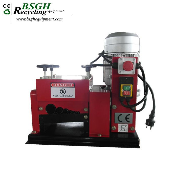 Hot sale used wire peeling and cutting machinery automatic scrap