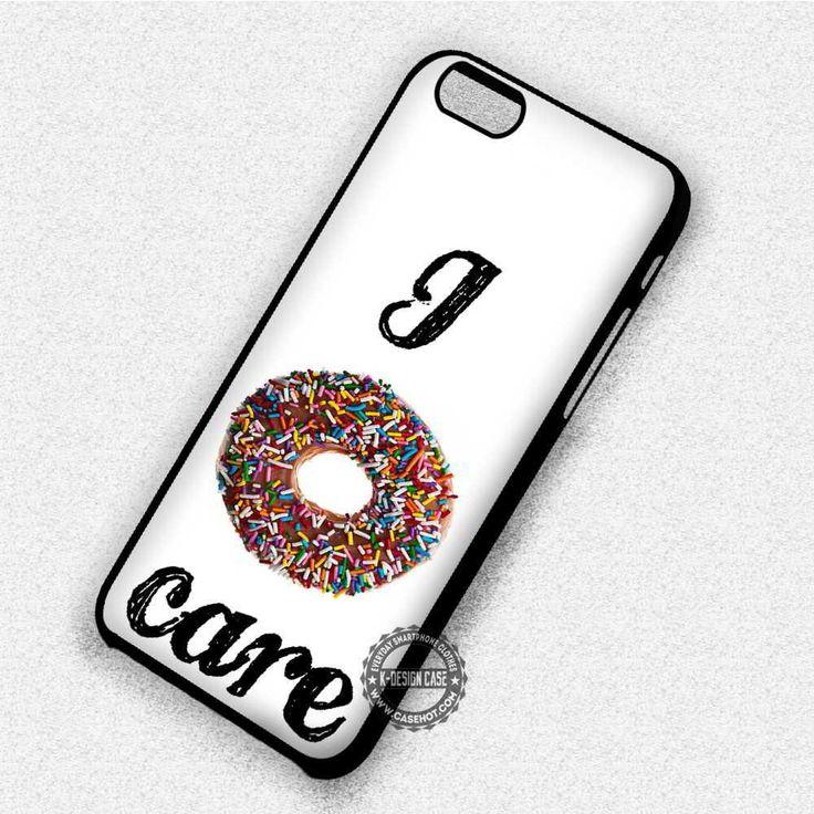 Doughnut Food Desert - iPhone X 8  7 6s SE Cases & Covers #quote #text #doughnut #donut #iphonecase #phonecase #phonecover #iphone7case #iphone7 #iphone6case #iphone6 #iphone5 #iphone5case #iphone4 #iphone4case #iphone8case #iphoneXcase #iphone8plus