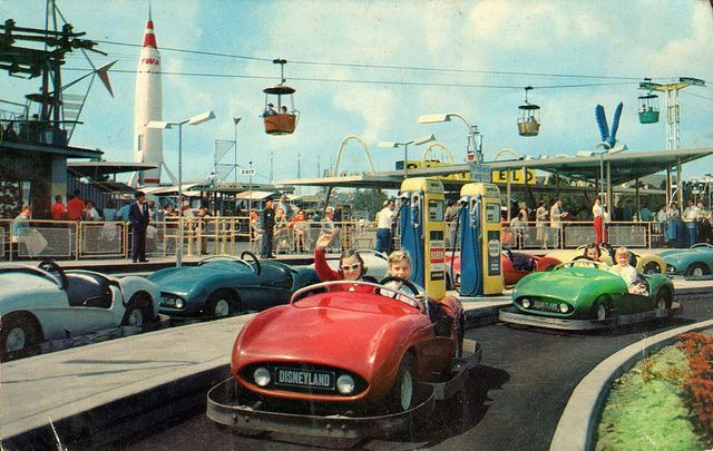 Freeway of the Future, Disneyland, Anaheim, CA | Flickr. Richfield Autopia was built before the Interstate system was constructed giving guests a glimpse of what now seems commonplace.