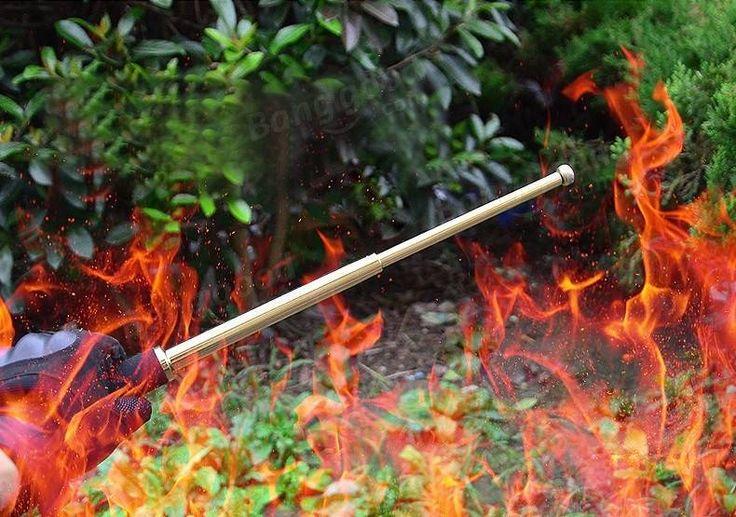 DANIU Portable Multifunctional Self Defense Stick Hammer Camping Hiking Survival Emergency Tools