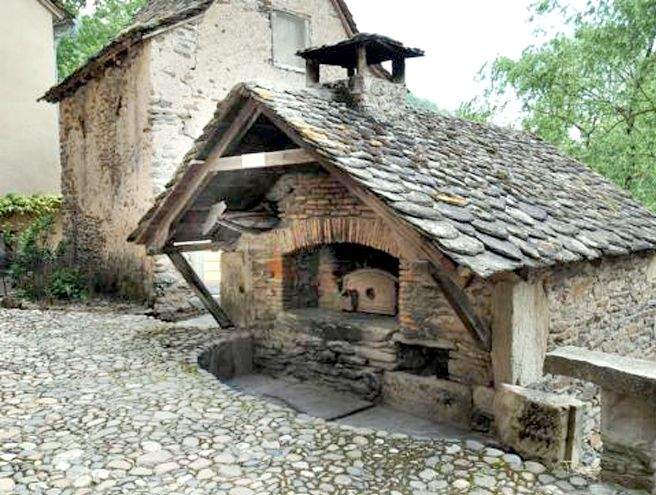 Communal oven in France