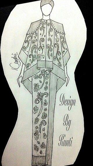 Baju Batik modifikasi