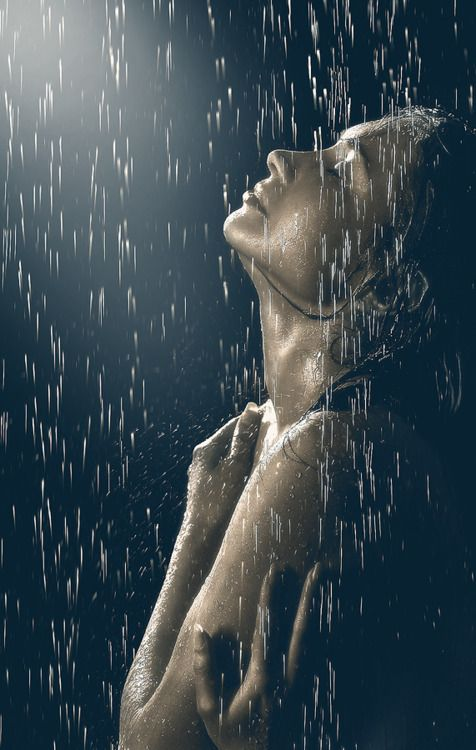 Let the rain take the pain away.