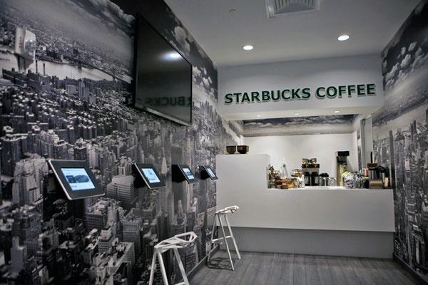 Sandow Office - Starbucks w/ iPads - Commercial Design