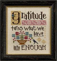 B51 Gratitude Turns What We Have into Enough Inspiration Boxer