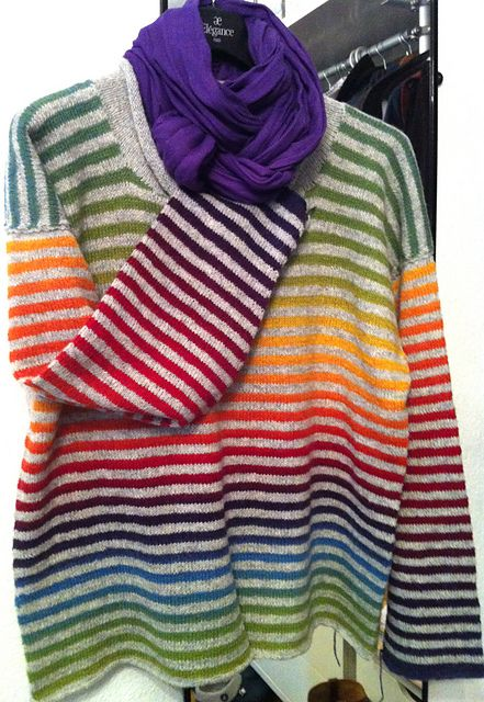 Inspriation (no pattern): allixx's Kauni rainbow Stripes