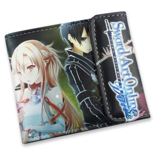 $19.99 + FREE SHIPPING! Sword Art Online Leather Wallet - OtakuForest.com