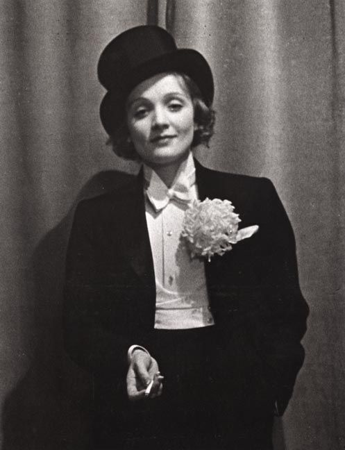 Marlène Dietrich ~ Star of The Weimar Republic classic film, The Blue Angel