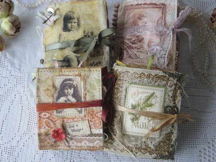 My little 'Just a Whisper ' journals