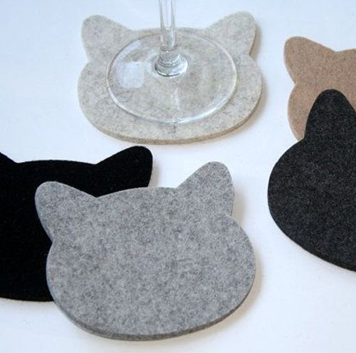 276 best felt coaster images on Pinterest