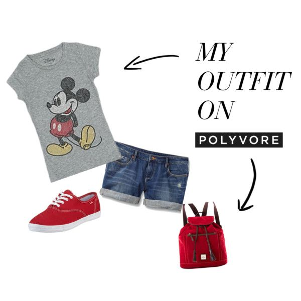 """8. """"Disney Outfit"""" for Park Hopping by shanna-bailes on Polyvore #momselect #newfantasyland"""