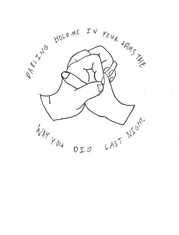 """Anon requested: Could you do a drawing inspired by Ed Sheeran's lyrics """"darling hold me in your arms the way you did last night""""? Ed Sheeran inspired tattoo©. """"Darling hold me in your arms the way you..."""