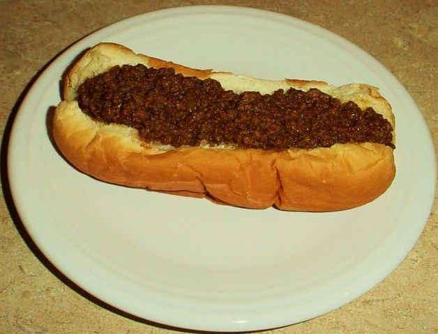A recipe for Albany Street MEAT SAUCE For Hot Dogs from cdkitchen.com  http://www.ielmira.com/index.php?/topic/9498-m-ms-hots/
