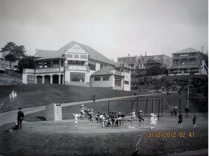 Myers Park, Auckland 1930's