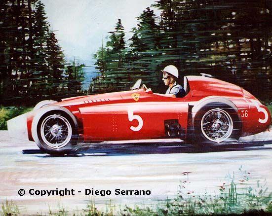 Diego Serrano... pasión por el Arte y el Motor...