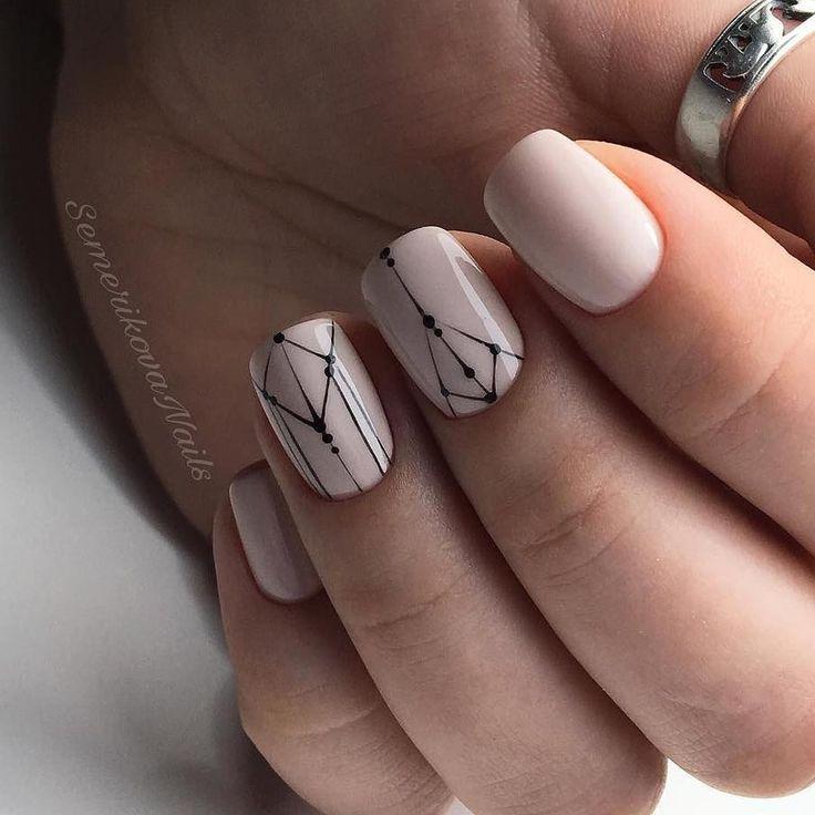 1,301 вподобань, 2 коментарів – Маникюр / Ногти / Мастера (@nail_art_club_) в Instagram: «Repost @semerikova.nails ・・・ LUXIO Almondine•--•идея дизайна взята у @rior_nails #luxio_almondine…»