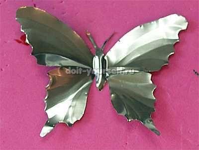 Как сделать бабочку из алюминиевой баночки: Вопросом Как, How To Make, Задались Вопросом, Алюминиевой Баночки, Сделать Бабочку, Из Алюминиевой, Бабочку Из, Помощью Бытовых, Бытовых Материалов