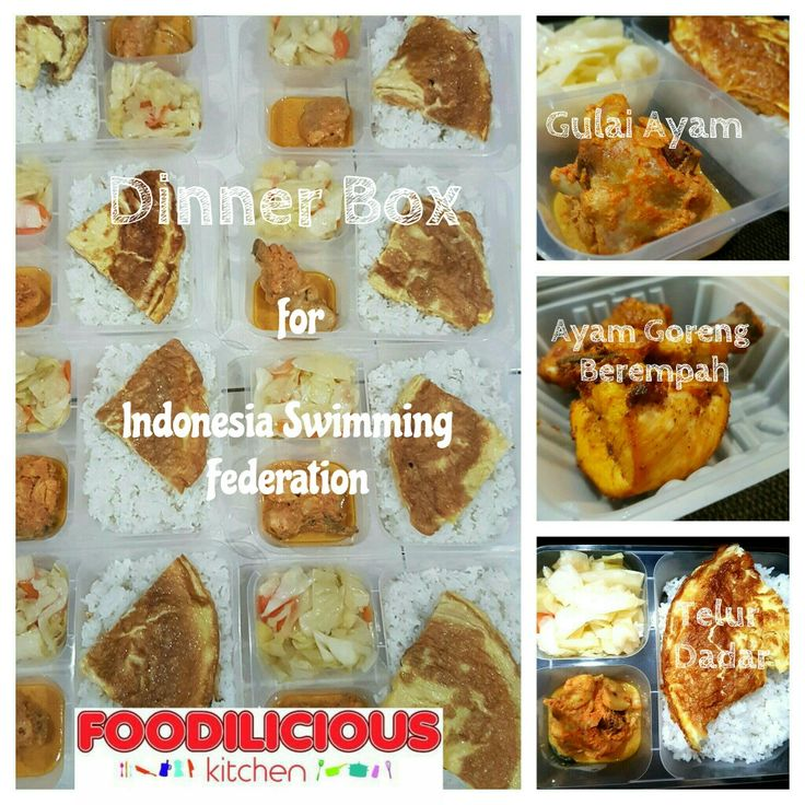 Nasi Putih with Gulai Ayam Set for Dinner specially made