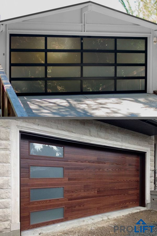 Do You Know Your Options When It Comes To Garage Doors Designed With Glass Panels Vs Garage Door Panels Desi Garage Doors Glass Garage Door Garage Door Design