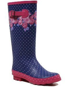 Floral Wellington Boots, read reviews and buy online at George. Shop from our latest range in Kids. Add some fun to their wet weather wardrobe with these gre...
