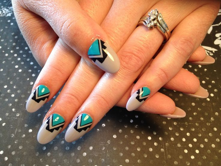 Native American nail art