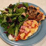 High protein chicken pizza - paleo. Use pounded chicken breast as crust.: Greg Everett, Athletic Recipe, Paleo Diet, High Protein, Chicken Pizza, Catalyst Athletic, Protein Chicken, Paleo Recipes, Chicken Breast
