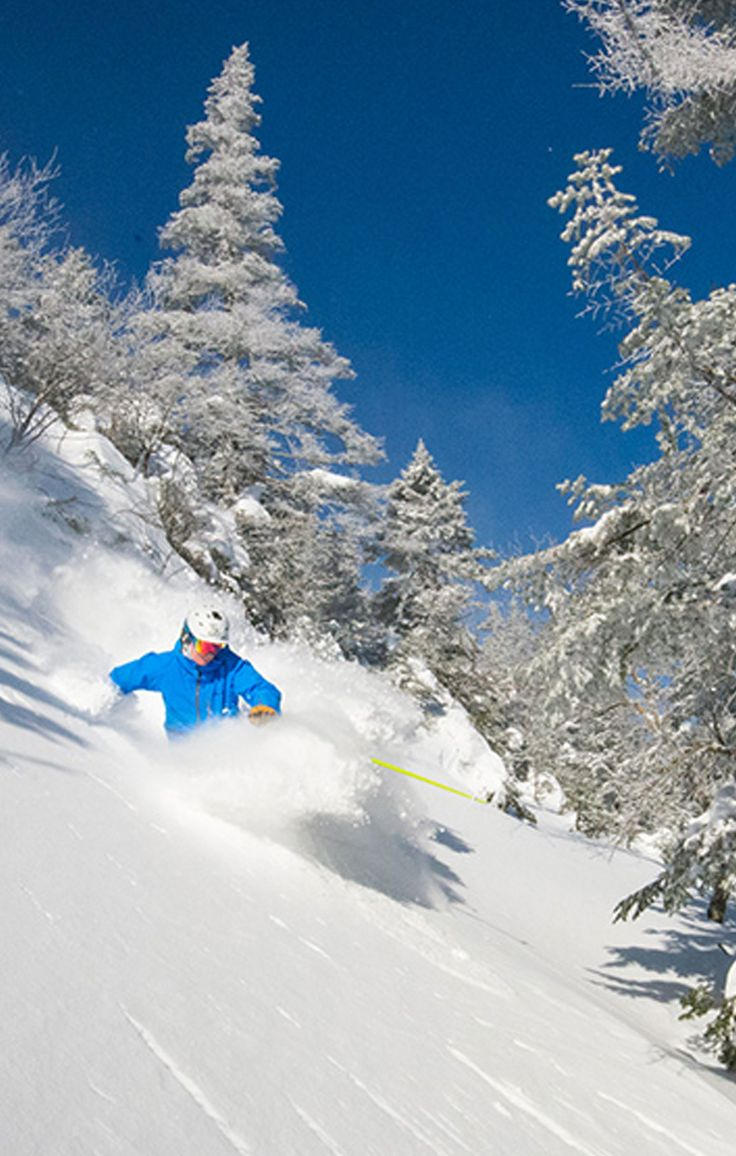 Plan a skiing trip to Jay Peak Resort in Jay, Vermont, where you can glide through powder and admire fragrant pine trees #GrouponGetaways