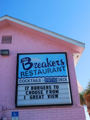 Awesome food at the breakers new smyrna beach! :-)