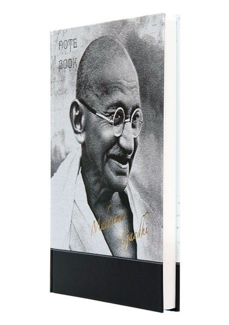 """""""Mahatma Gandhi Journal"""" - Learn about the philosophy of prominent personalities with this collection of journals and be inspired everyday."""