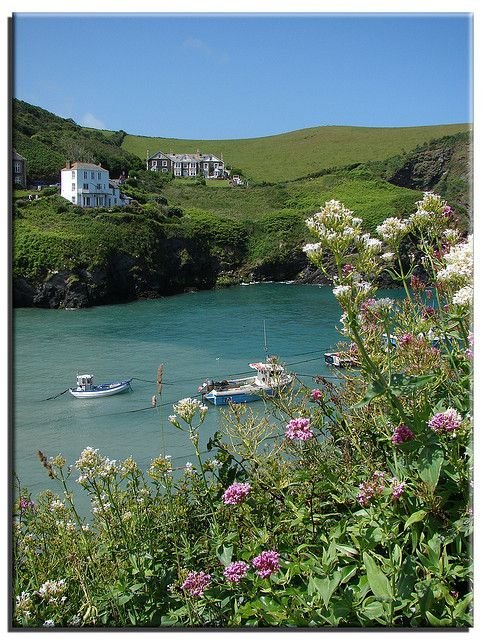 Port Isaac, Cornwall, (where Doc Martin is filmed)