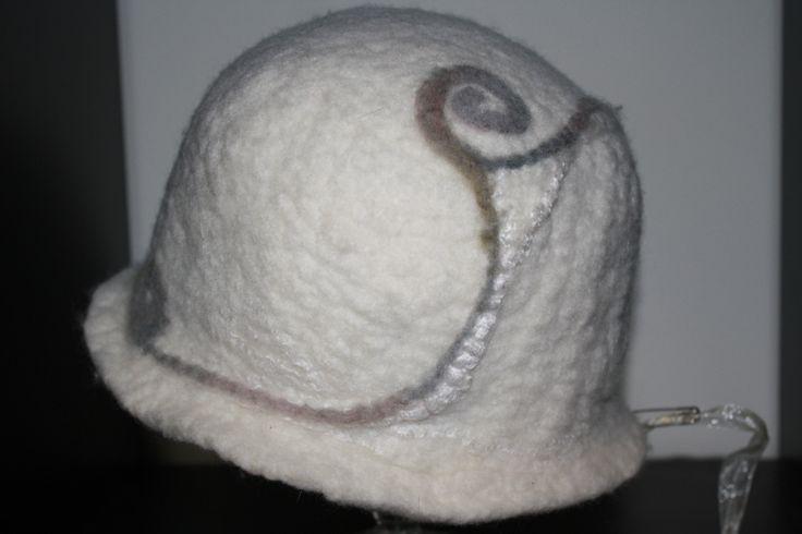 Merino/silk Cloche Hat