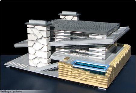 Modern Architecture Lego simple modern architecture lego villa savoye u in design ideas
