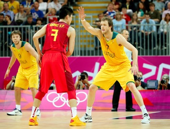 As good as China has been throughout the 2012 Summer Games, they have been equally bad in men's basketball.  China lost to Australia by 20 points in their most recent matchup—their third blowout loss in a row. The only team that has played worse than them to this point is Tunisia, but nobody expected anything out of them.