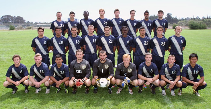 2012 Men's Soccer Team Photo  CSUMB Otters