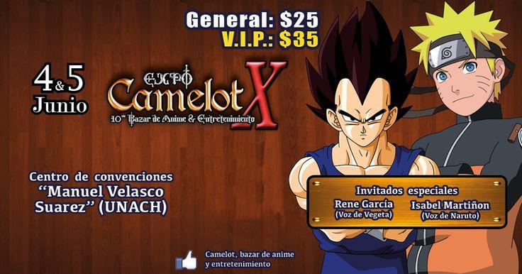 Expo Camelot X, 2016 - Tuxtla Gutiérrez, Chiapas, México, 4 y 5 de Junio 2016 ~ Kagi Nippon He ~ Anime Nippon-Jin