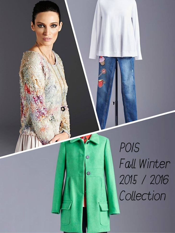 pois collection 2015 2016 fall winter, collezione pois inverno 2015 2016  #fashion #streetwear #madeinitaly #clothing #cool #winterfashion #jeans #coat