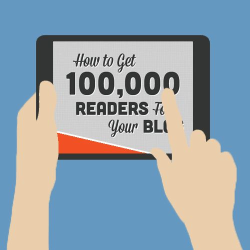 """Chart your course to 100,000 blog readers with our tactical, hand-on ebook, """"How to Get 100,000 Blog Readers."""" Get started today: http://hubs.ly/y0dLnc0"""