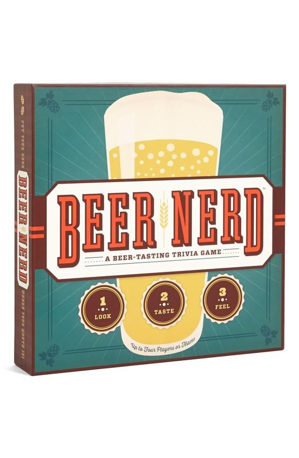 For the beer connoisseur in your life.