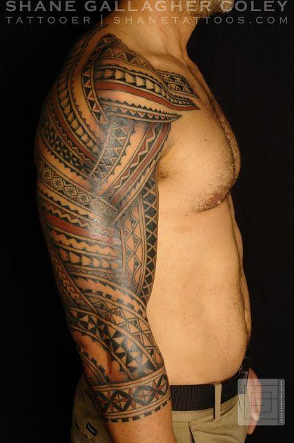 SHANE TATTOOS - Polynesian tattoo #samoantattoossleeves