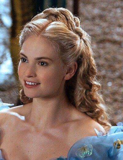 Cinderella's Ball Hairstyle