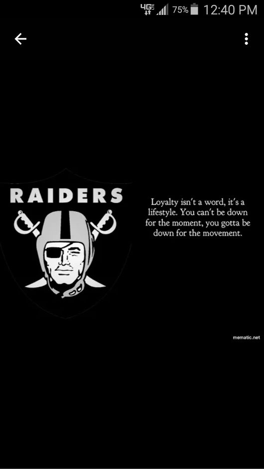 We had a little hiccup last weekend that's okay time to move on let's go this weekend time to take out them Broncos have a Raiders Day to all...... - Rich King - Google+