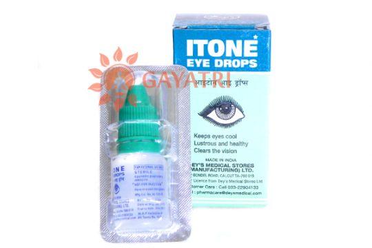 """Глазные капли """"Айтон"""", 10 мл., производитель """"Дейс Медикал"""", Itone Eye Drops, 10 ml. Dey's Medical"""