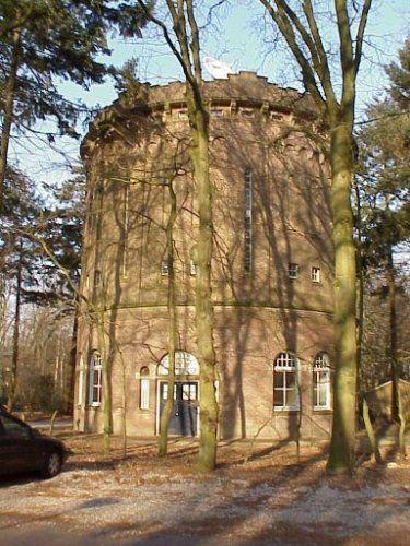 De watertoren aan de Utrechtseweg 178....