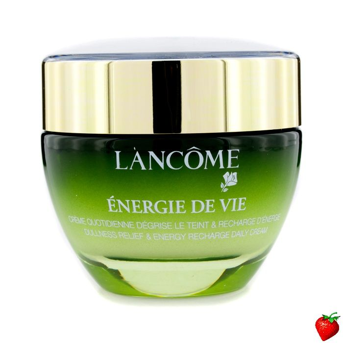 Lancome Energy De Vie Dullness Relief & Energy Recharge Daily Cream (For All Skin Types, Made in France) 50ml/1.7oz #Lancome #SkinCare #Women #Beauty #FREEShipping #StrawberryNET