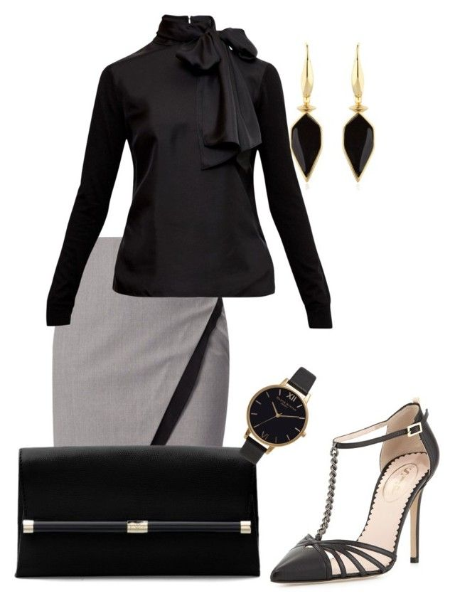 After work cocktails by niobestyles on Polyvore featuring polyvore, fashion, style, Ted Baker, WtR London, SJP, Diane Von Furstenberg, Isabel Marant, Olivia Burton and clothing