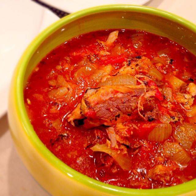 オイルサーディン トマトソース煮缶を使ったカレー じゃが芋、玉ねぎとトマトに唐辛子で煮込んだマレーシアの家庭料理らしいです - 38件のもぐもぐ - トマトサーディンカレー by yukis69