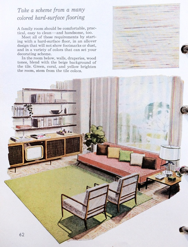 Vintage Better Homes Gardens Decorating Book Fab Living Room Home Sweet Home Pinterest