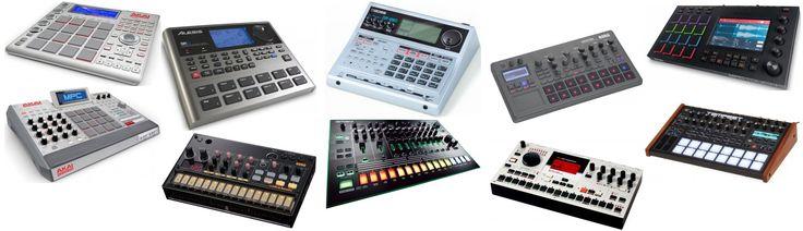 The best drum machines, ever! #drummachine #drummachines #drums #musicproduction #musicproducing