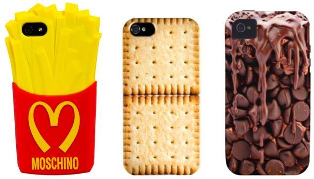 Najlepsze etui na telefony iPhone-frytki, czekolada, herbatniki